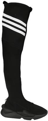 Y-3 Knee-high Stretch Knit Boots