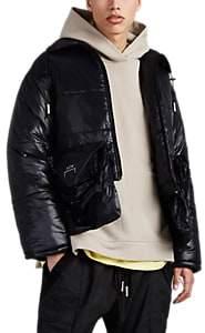 A-Cold-Wall* Men's Tech-Taffeta Crop Puffer Jacket - Black