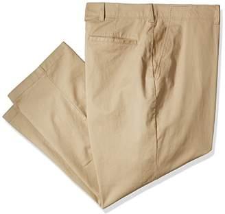 Haggar Men's Big and Tall Coastal Comfort Classic Fit Superflex Flat Front Pant