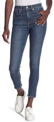 Rag & Bone High Rise Ankle Skinny Leg Jeans