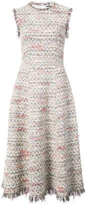 ADAM by Adam Lippes raw-edged fluted midi dress