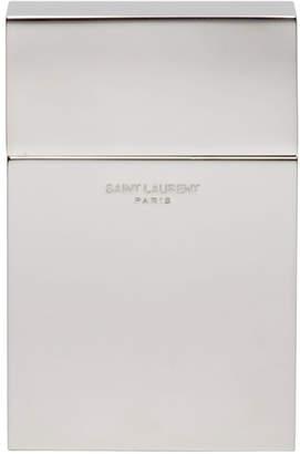 Saint Laurent Silver Cigarette Case