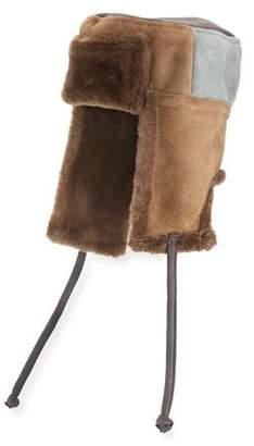 Paul Smith Men's Sheepskin Chapka Hat