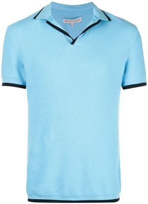 Orlebar Brown textured polo shirt