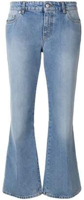 Alexander McQueen flared jeans