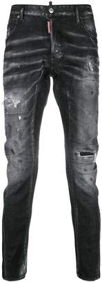 DSQUARED2 tapered distressed jeans