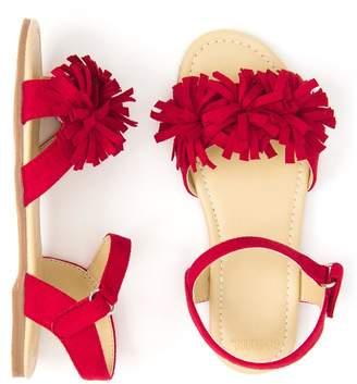 Gymboree Pom-Pom Sandals