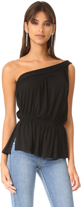 Ella Moss One Shoulder Tank $88 thestylecure.com