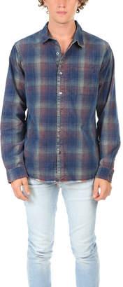 Frame Denim Plaid Corduroy Shirt