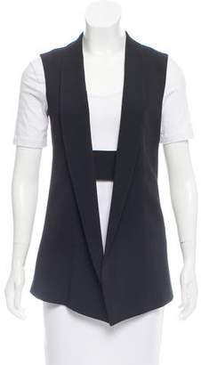 Narciso Rodriguez Shawl Collar Vest