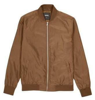 Burton Mens Copper Nylon Bomber Jacket