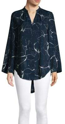 Context Classic Printed Blouse