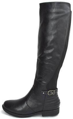 Bamboo Back Elastic-Riding Boots $40 thestylecure.com
