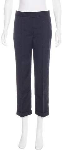 Christian Dior Wool High-Rise Pants