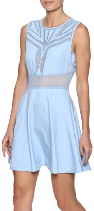 Ina Sky Blue Tea Dress