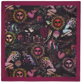 Carré Violet 1974 Poche Paul Smith BEqBJp