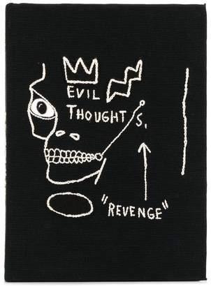 Olympia Le-Tan Basquiat Revenge book clutch