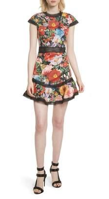 Alice + Olivia Rapunzel Fit & Flare Dress