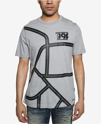 Sean John Mens Grand Prix Graphic T-Shirt