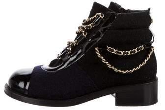 Chanel Paris-Salzburg Ankle Boots