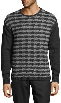 John Varvatos Men's Wool-Cashmere Sweater