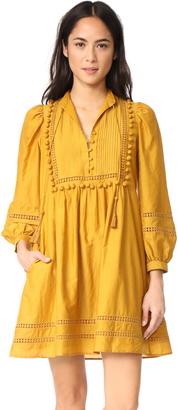 Sea Pom Pom Tunic Dress $445 thestylecure.com