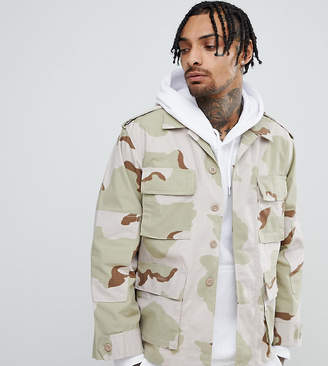 Reclaimed Vintage Revived Dessert Camo Jacket