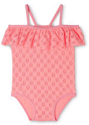 Sprout NEW Girls One Piece Bather Pink