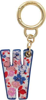 Cath Kidston Mews Ditsy Bag Charm/Key Ring Initial Charm W