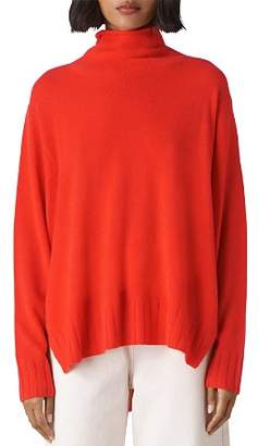 Whistles Cashmere Funnel-Neck Sweater