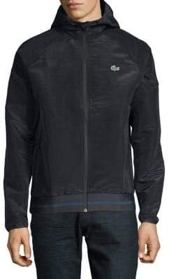 Lacoste Hooded Full-Zip Jacket