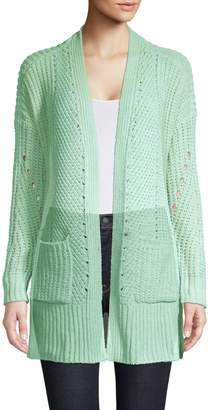 Style&Co. Style & Co. Chenille Open-Front Cardigan