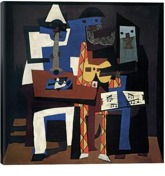 iCanvas Three Musicians by Pablo Picasso Giclee Print Canvas Art
