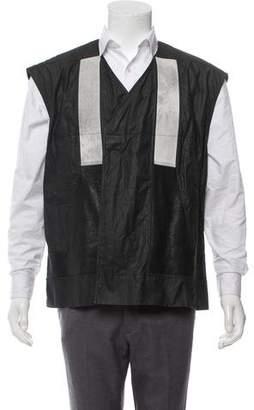 Rick Owens Lamb Leather Trim Vest