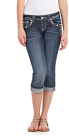 Miss Me Patriotic Capri Jeans