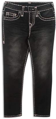 True Religion Boys' Slim-Fit Jeans with Contrast Stitching - Little Kid, Big Kid
