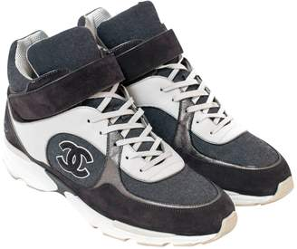 Chanel Cloth high trainers