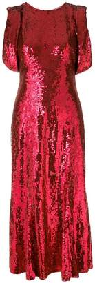 ATTICO sequin midi dress