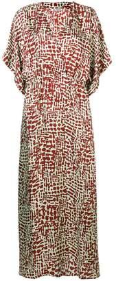 Barena all-over print dress