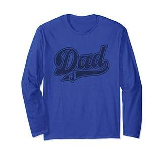 Number One Dad baseball best gift sports Collection Long Sleeve T-Shirt
