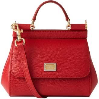 Dolce & Gabbana Mini Leather Sicily Bag