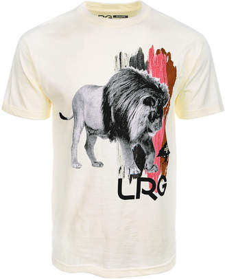 Lrg Men's Brushed Lion Graphic-Print T-Shirt