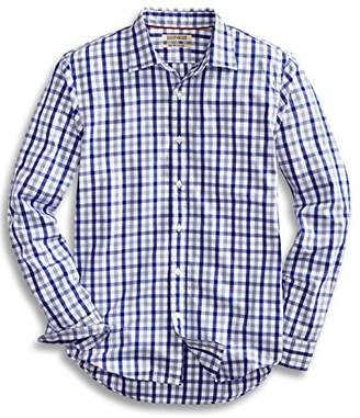 Goodthreads Men's Slim-Fit Long-Sleeve Checked Shirt