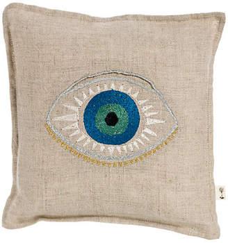 Coral & Tusk Luck 7x7 Linen Pillow