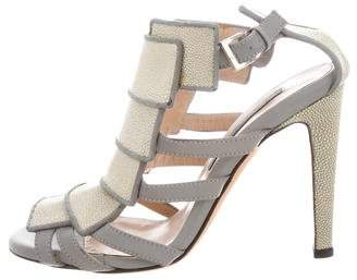 Chrissie Morris Valentina Caged Pump w/ Tags