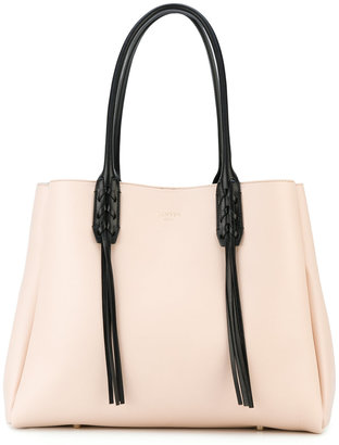 Lanvin fringed shopper tote $1,695 thestylecure.com