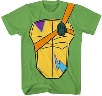 Novelty T-Shirts Boys Crew Neck Short Sleeve Teenage Mutant Ninja Turtles T-Shirt Preschool / Big Kid