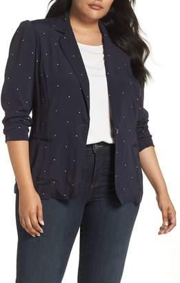 29bc71a52116c Vince Camuto Blue Plus Size Jackets - ShopStyle