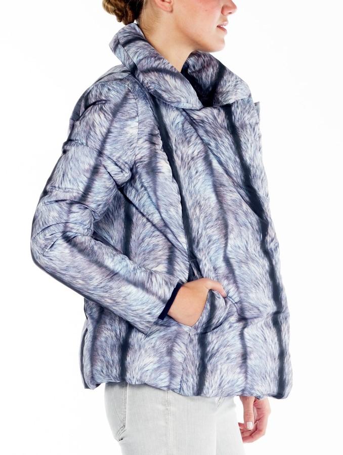 Maison Martin Margiela Fur Printed Puffer Jacket