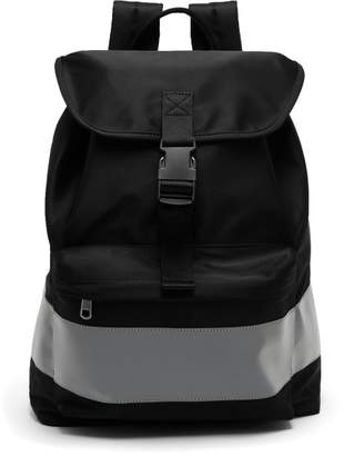 A.P.C. Telio Fluorescent Band Backpack - Mens - Black